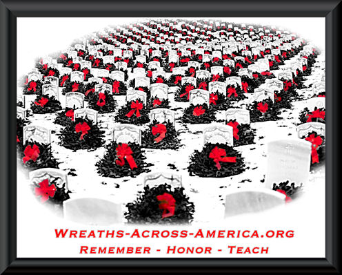 Wreaths Across America - Dec 10 at 1:30 (Marlborough Green)