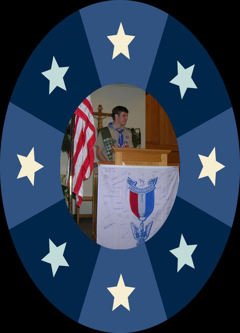 Eagle Scout Scott Adamson