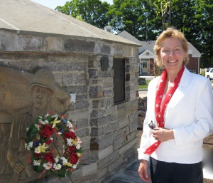 Rep. Pam Sawyer, Memorial Day 2010